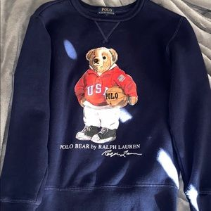 Polo bear Ralph Lauren sweater boys